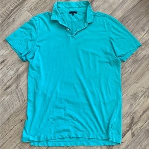 Men's Teal Polo